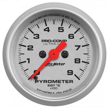 2-1/16″ PYROMETER, 0-900 °C, ULTRA-LITE