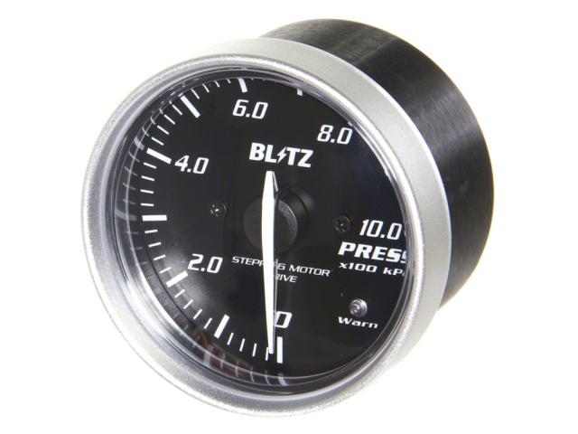 Blitz Racing Meter SD 60mm Pressure Gauge – Red