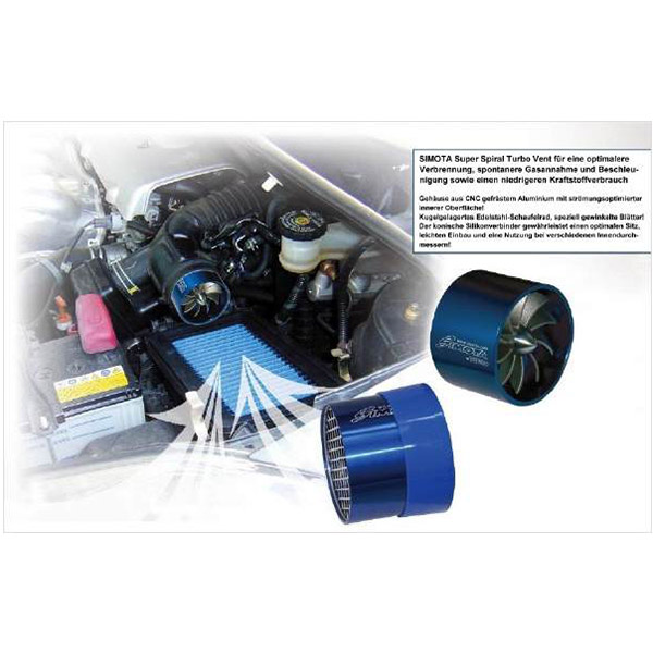 Simota Super Spiral Turbo Ventilator
