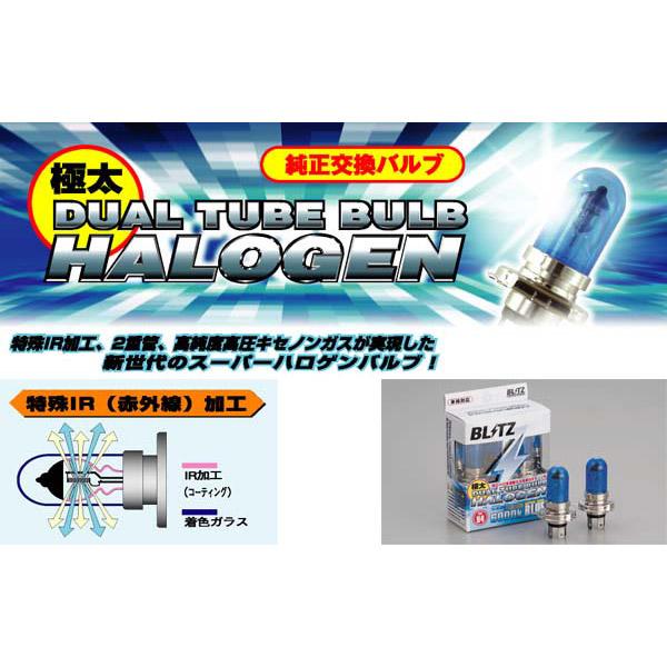 Blitz Dual Halogen Tube Bulb (Type HB4)