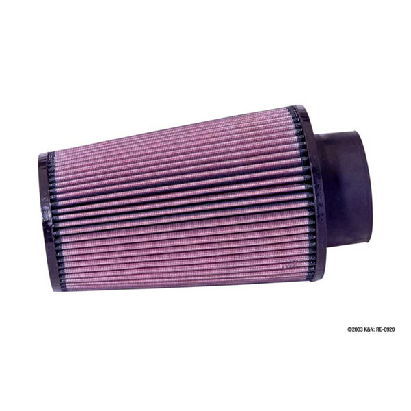 K&N RE-0950 Universal Clamp-On Air Filter 3.5in