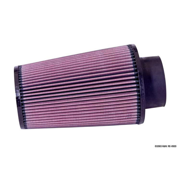 K&N RE-0920 Universal Clamp-On Air Filter 3.5in