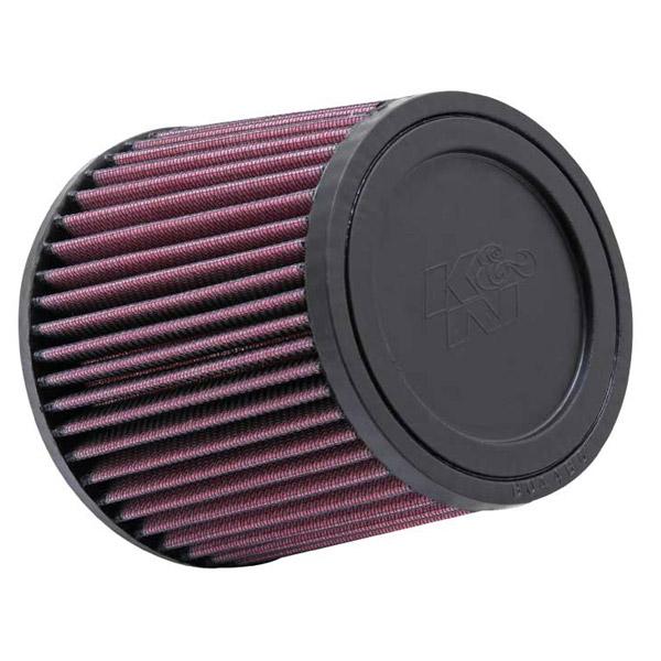 K&N RU-2520 Universal Clamp-On Air Filter 4in