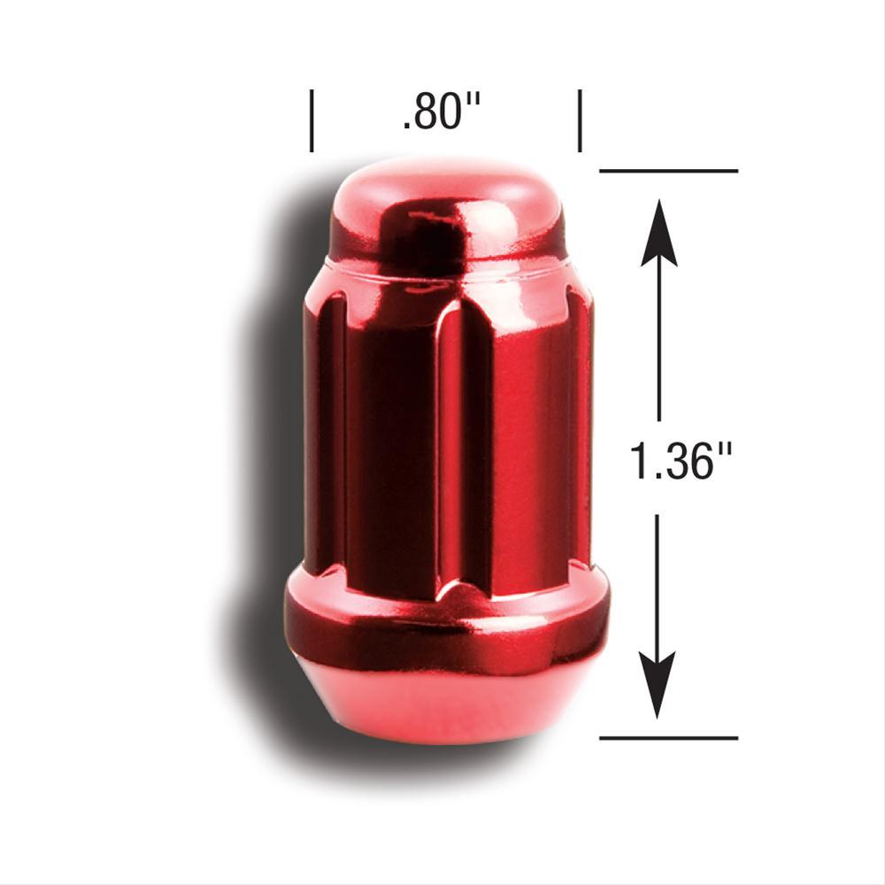 Gorilla Small Diameter Lug Nuts 12mm x 1.25 RH