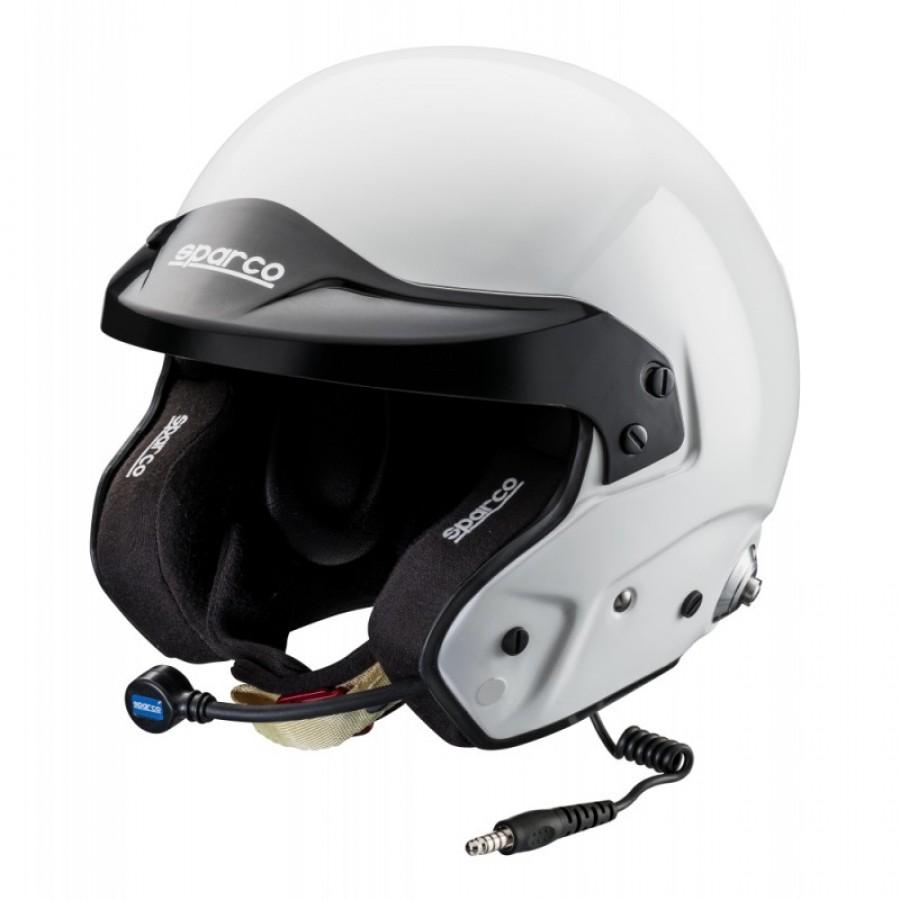 003352 Casco Sparco RJ-3 I Snell Intercom Helmet