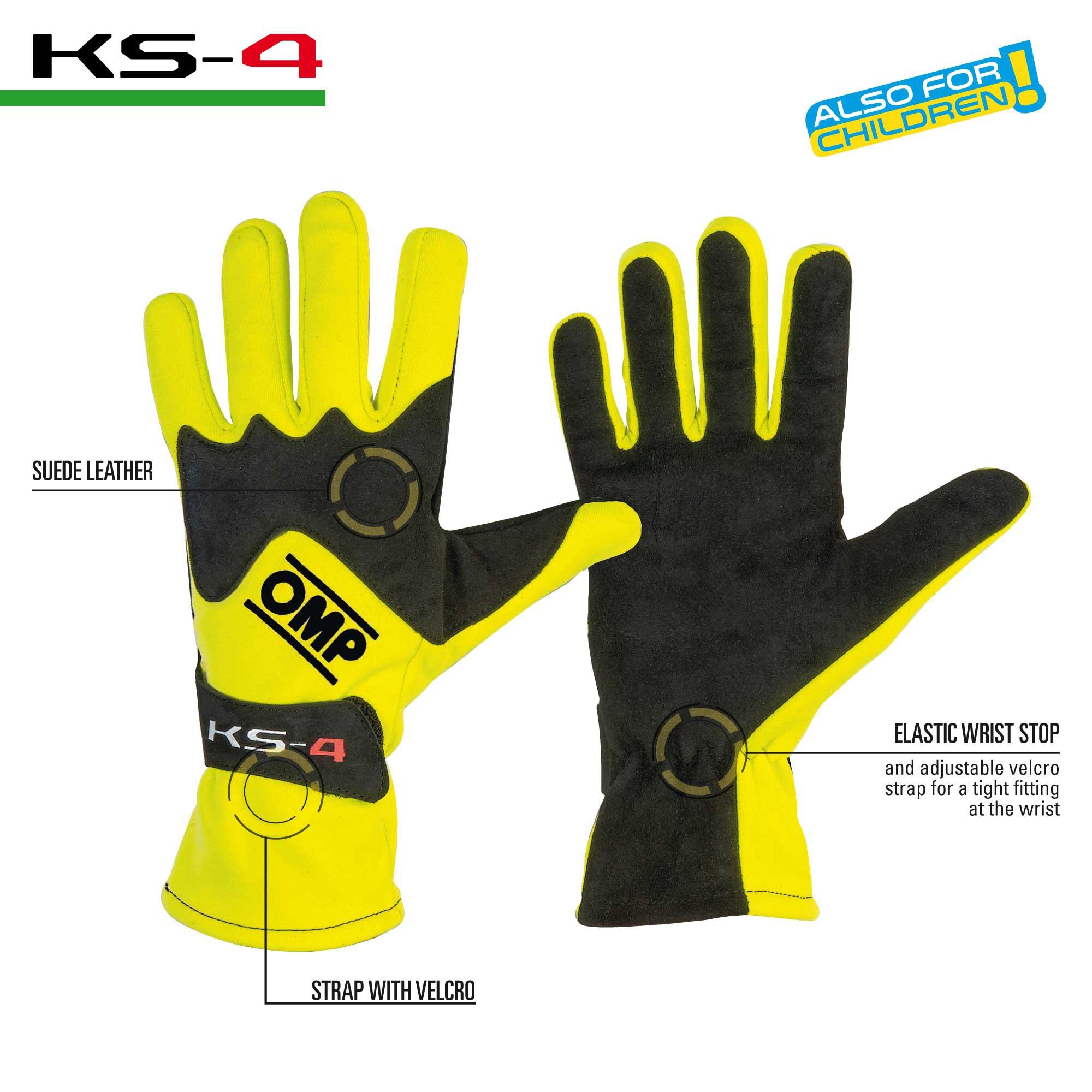 OMP KS-4 Racing Gloves KK02744
